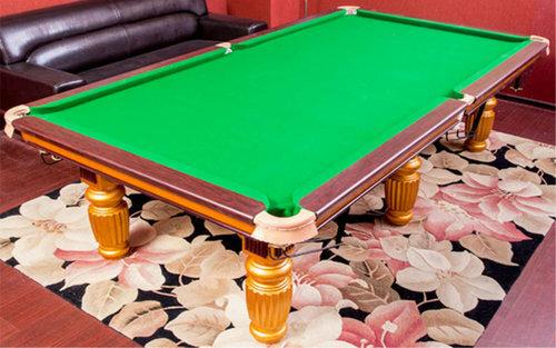 台球桌布的选择应该注意哪些方面?