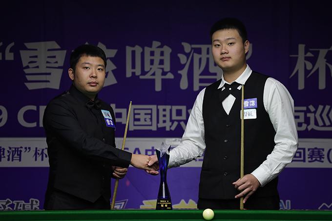 中巡赛西安站落幕,张安达夺生涯第二冠!