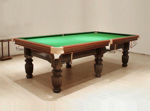 关于台球桌的这些种类、材质、配件内容,