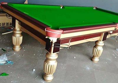 台球桌有哪些制造的工艺流程